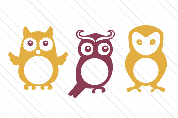 Download Free Owl Monogram Frames Svg Cut File By Creative Fabrica Crafts for Cricut Explore, Silhouette and other cutting machines.