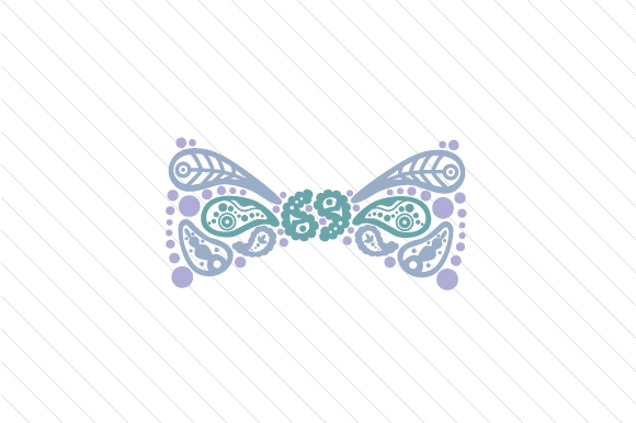 Paisley Bow Ribbon Paisley Craft Cut File By Creative Fabrica Crafts