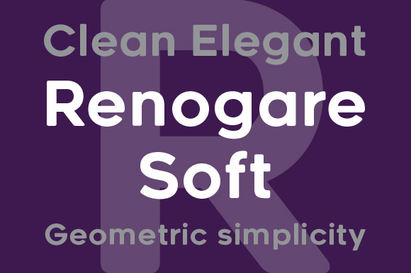 Print on Demand: Renogare Soft Sans Serif Font By Graphite