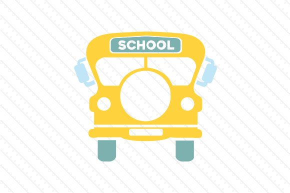 Download Free School Bus Monogram Frame Svg Cut File By Creative Fabrica for Cricut Explore, Silhouette and other cutting machines.