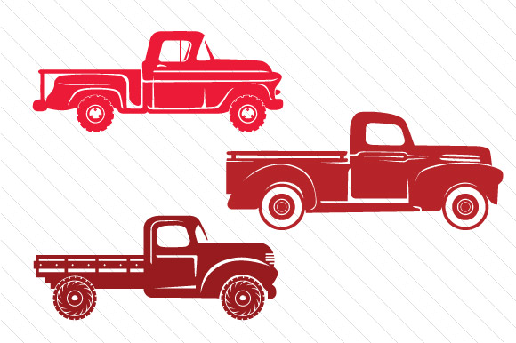 Christmas Truck Kit - Create Your Own Truck Craft Design By Creative Fabrica Freebies - Image 2