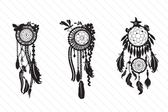 Dream Catcher Kit- Design Your Own Dream Catcher Kits & Sets Craft Cut File By Creative Fabrica Crafts - Image 2