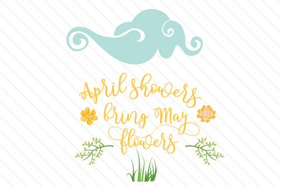 home crafts spring april showers bring may flowers craft kit