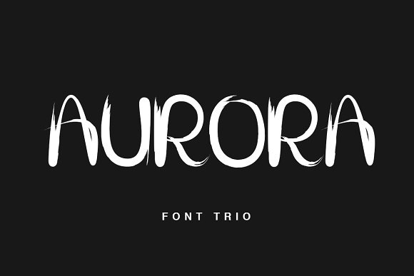 Print on Demand: Aurora Script & Handwritten Font By Factory738