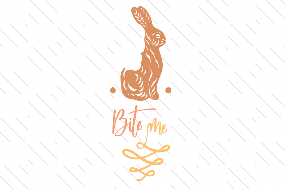 Bite Me Easter Craft Cut File By Creative Fabrica Crafts