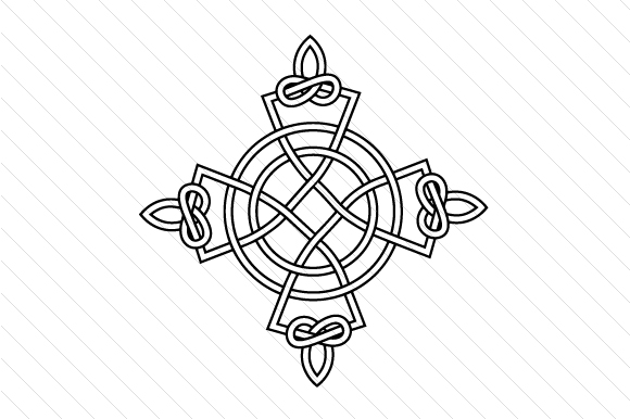 Celtic Cross Religious Craft Cut File By Creative Fabrica Crafts