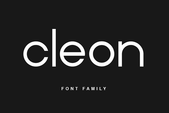 Print on Demand: Cleon Sans Serif Font By Factory738