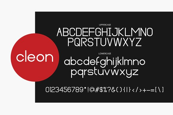 Print on Demand: Cleon Sans Serif Font By Factory738 - Image 5