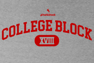 college-block-font-by-etewut