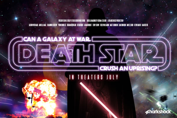 Print on Demand: Death Star Display Schriftarten von Sharkshock