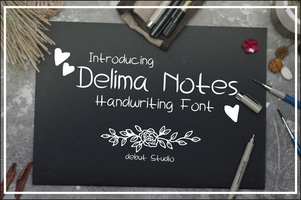 Delima Font By Debut Studio