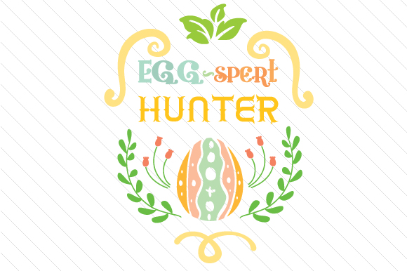 Egg-spert Hunter Easter Craft Cut File By Creative Fabrica Crafts