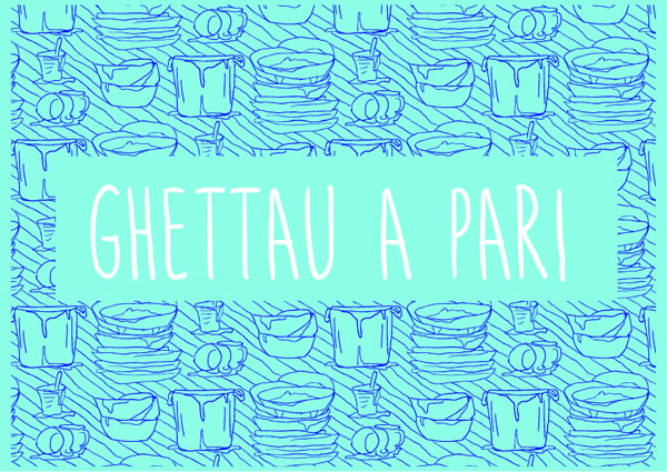 Print on Demand: Ghettau a Pari Script & Handwritten Font By Silvia Porcu