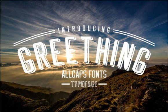 Print on Demand: Greething Sans Sans Serif Font By Jamalodin