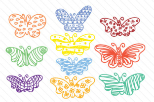 hand-drawn-butterfly-set