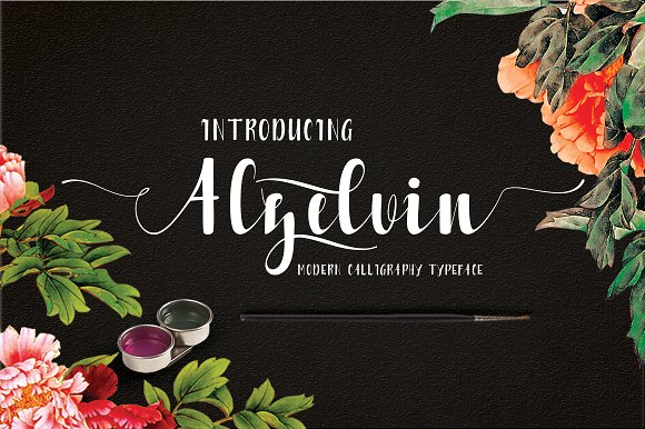 Print on Demand: Alzelvin Script & Handwritten Font By Danti