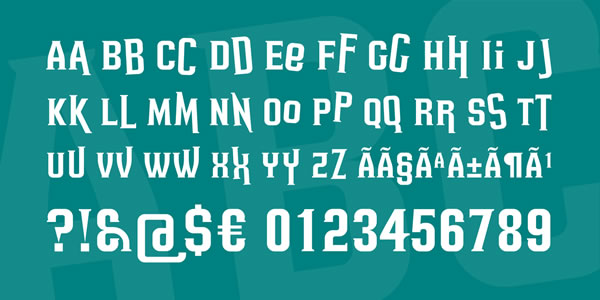 Print on Demand: Headsome Modif Serif Font By Situjuh - Image 3