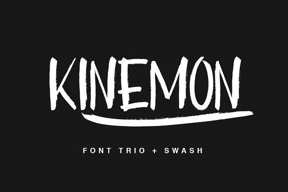Print on Demand: Kinemon Script & Handwritten Font By Factory738