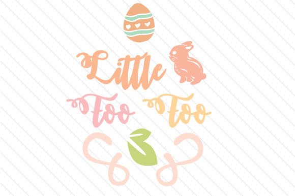 Little Foo Foo Easter Craft Cut File By Creative Fabrica Crafts