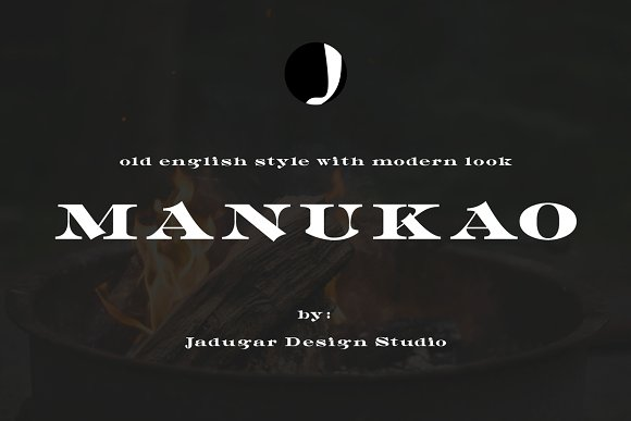 Print on Demand: Manukao Serif Font By Jadugar Design Studio