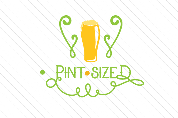 Pint Sized Saint Patrick's Day Craft Cut File By Creative Fabrica Crafts