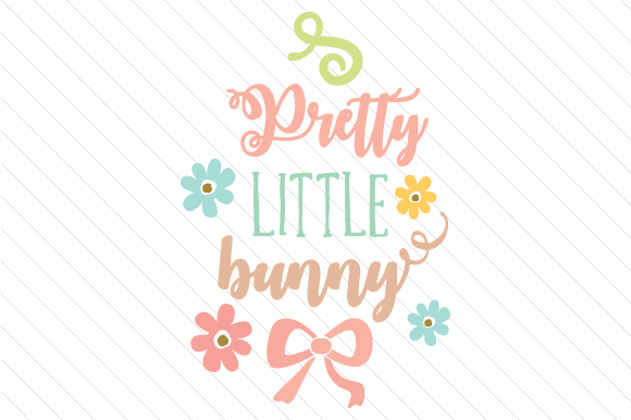 Pretty Little Bunny Easter Craft Cut File By Creative Fabrica Crafts