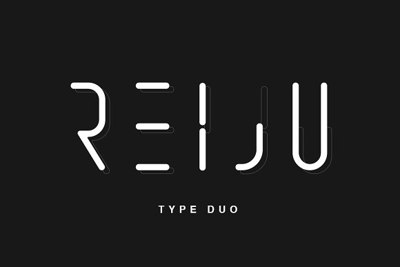 Print on Demand: Reiju Sans Serif Font By Factory738