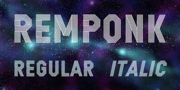 Print on Demand: Remponk Display Font By Situjuh - Image 2