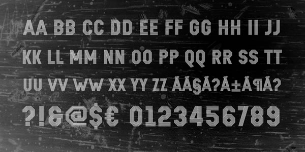 Print on Demand: Remponk Display Font By Situjuh - Image 4