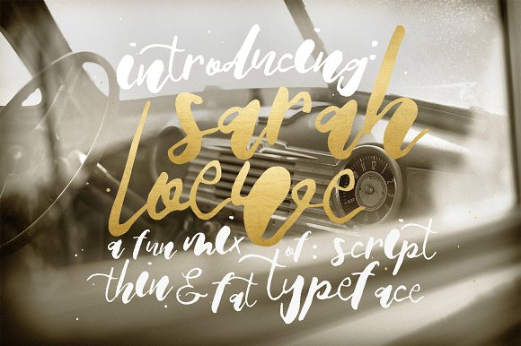 Print on Demand: Sarah Loewe Script & Handwritten Font By Blue Robin Design Shop