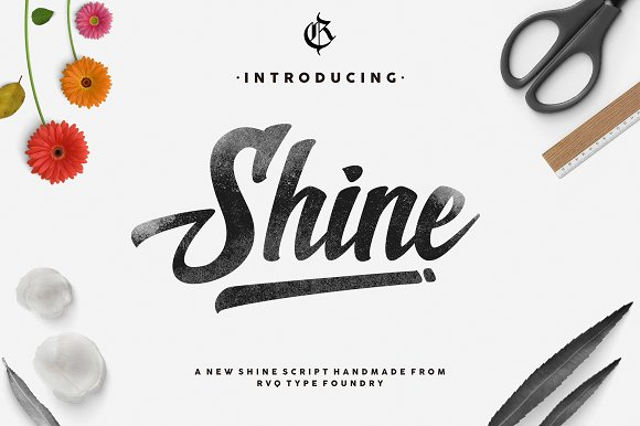 Print on Demand: Shine Script & Handwritten Font By Rvq Type Foundry - Image 1