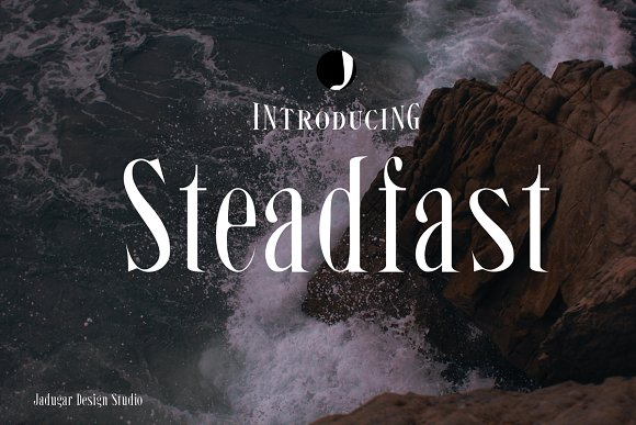 Print on Demand: Steadfast Serif Font By Jadugar Design Studio