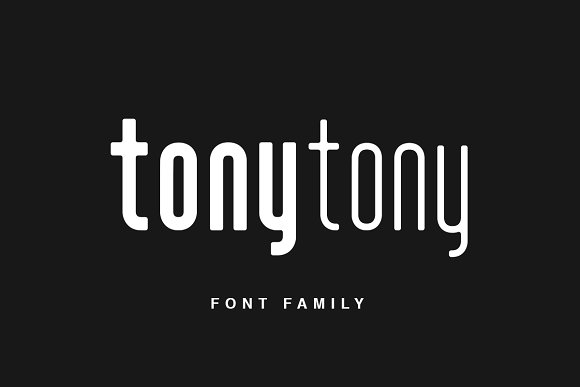 Print on Demand: TonyTony Sans Serif Font By Factory738