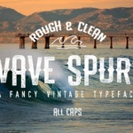 wave-spurs-font-by-shiro-std-1