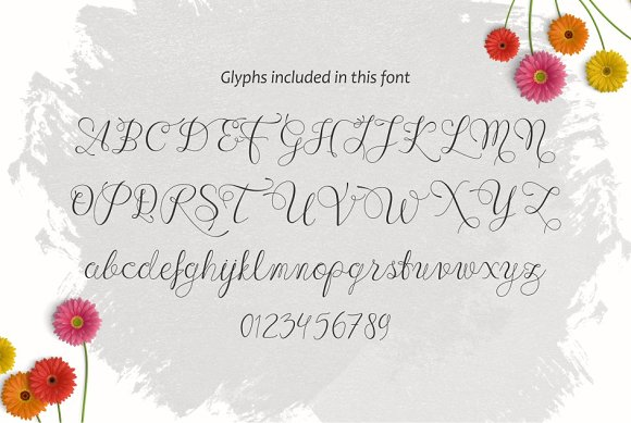 Print on Demand: Wenny Script Script & Handwritten Font By Jamalodin - Image 3