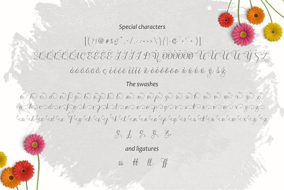 Print on Demand: Wenny Script Script & Handwritten Font By Jamalodin - Image 4