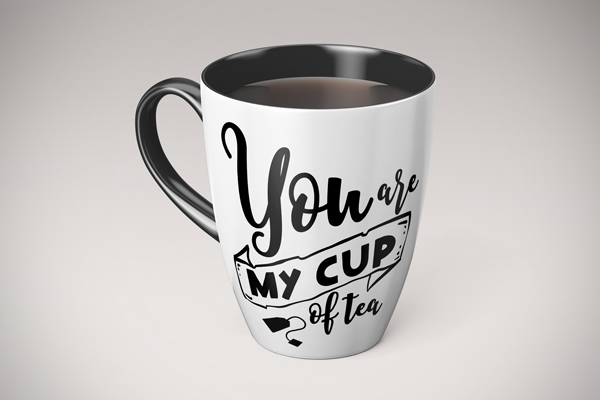 You Are My Cup Of Tea Svg Cut File By Creative Fabrica Freebies Creative Fabrica