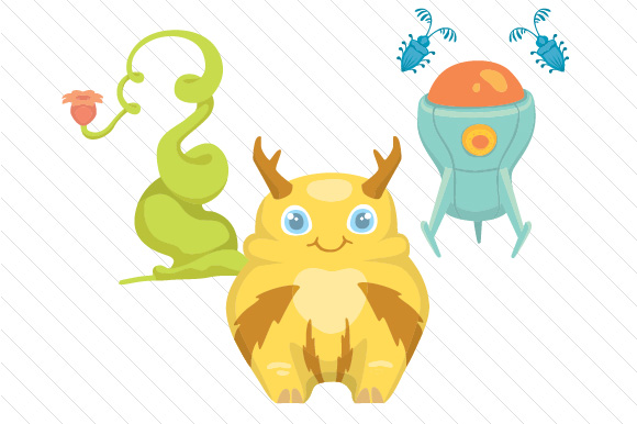 Cute Monster Kit Craft Design By Creative Fabrica Crafts Image 6