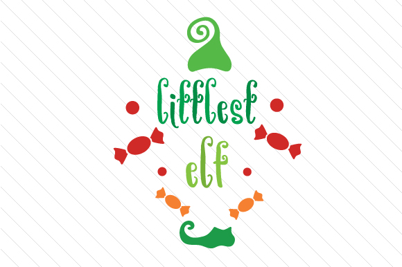 Littlest Elf Christmas Craft Cut File By Creative Fabrica Crafts