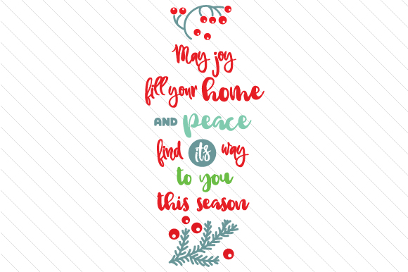 Download Free May Joy Fill Your Home And Peace Svg Cut File By Creative Fabrica Crafts Creative Fabrica SVG Cut Files