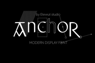 anchor-display-font-by-etewut-1