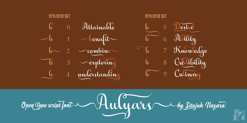 Aulyars Font By Situjuh Image 2