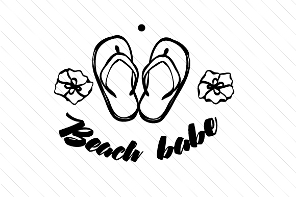 Download Free Beach Babe Svg Cut File By Cut Cut Palooza Creative Fabrica SVG Cut Files