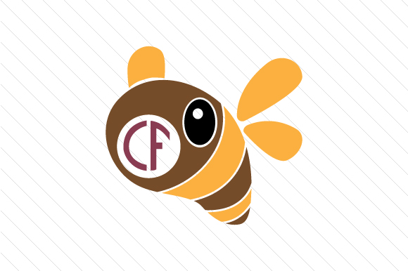Download Free Bee Monogram Frame Svg Cut File By Creative Fabrica Crafts for Cricut Explore, Silhouette and other cutting machines.