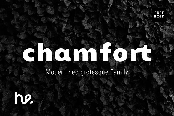 Chamfort Sans Serif Font By Hederae Type Foundry