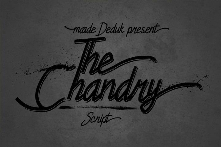 Chandry Font By madeDeduk Image 1