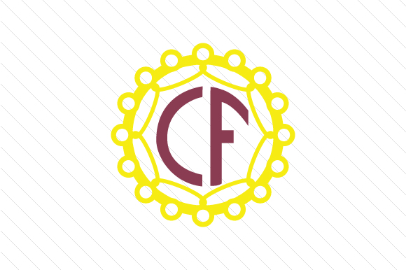 Download Free Set With 5 Circle Monogram Frames Svg Cut File By Creative for Cricut Explore, Silhouette and other cutting machines.
