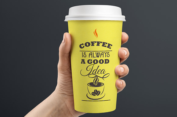 Download Free Coffee Is Always A Good Idea Svg Cut File By Creative Fabrica for Cricut Explore, Silhouette and other cutting machines.