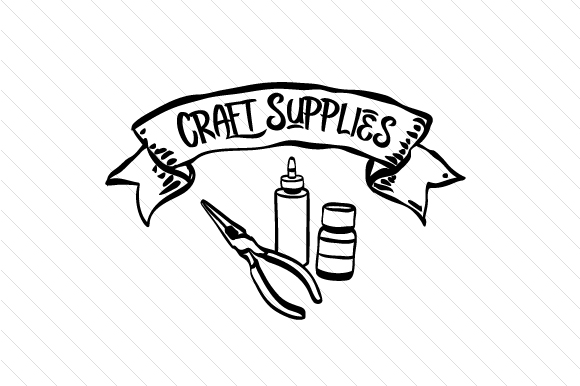 Craft Supplies Svg Cut File By Creative Fabrica Crafts