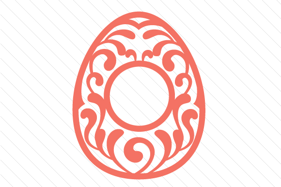 Easter Egg Monogram Frames Easter Craft Cut File By Creative Fabrica Crafts - Image 11
